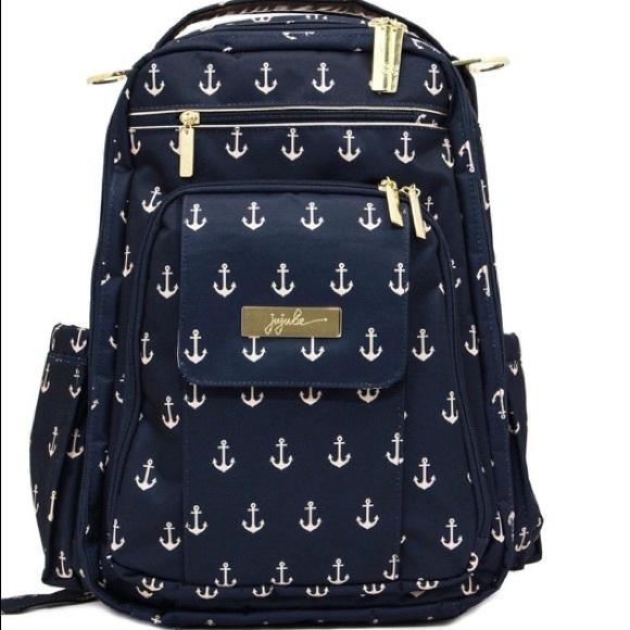 Ju-Ju-Be nautical legacy backpack diaper bag